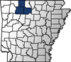 Searcy, Boone & Newton Counties